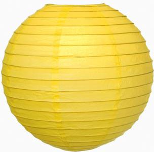 Paper Lantern Yellow