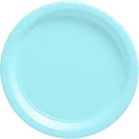 Plates Baby Blue Large