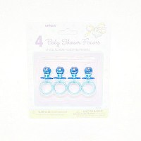 Baby Shower Pacifiers Blue