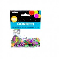 Confetti Scatter 60th Birthday