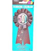 Badge Ribbon 50th Birthday