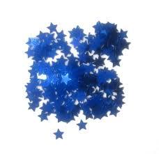 Confetti Scatter Blue Stars