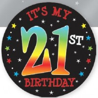 Badge 21st Its My Birthday