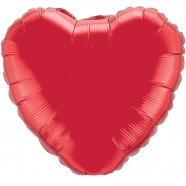 Foil Balloon Red Heart