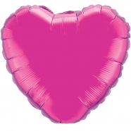 Foil Balloon Hot Pink Heart