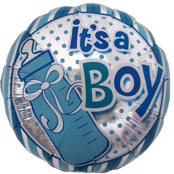 Foil Balloon Blue Its a Boy