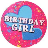 Badge Birthday Girl