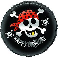 Happy Birthday Foil Pirate
