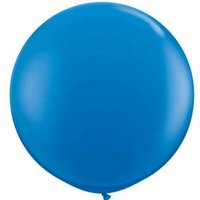 Balloon Mega Royal Blue 90cm