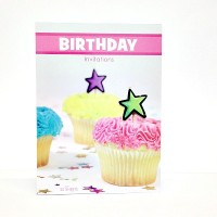 Birthday Invitations Cupcake