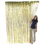 Doorway Curtain Gold