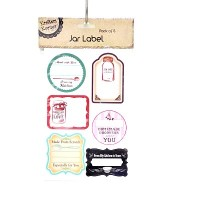 Stickers Jar Labels