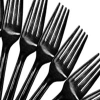 Cutlery Black Forks