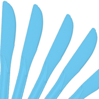 Cutlery Baby Blue Knives
