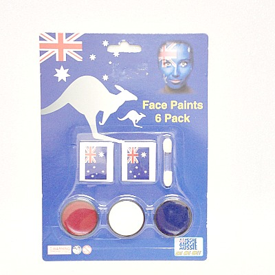 Australia Day Face Paints