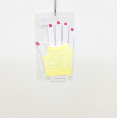 Hand Glove Yellow