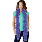 Boa Blue Feathers